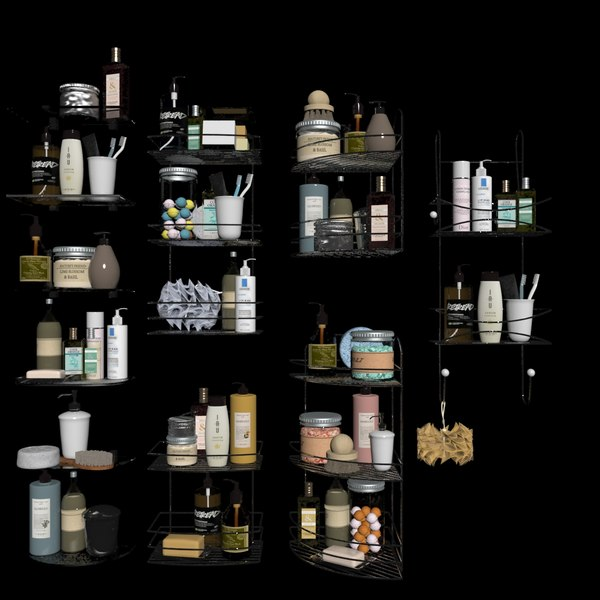 3D bath kits model