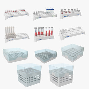 3D eppendorf storage boxes tube