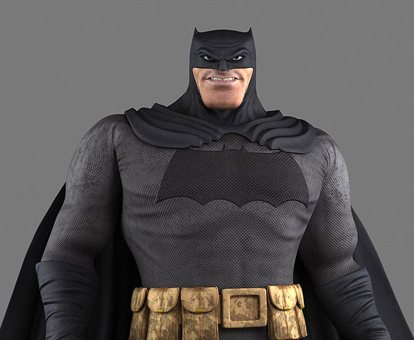 3D batman dark knight returns