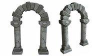 gothic archway 3D