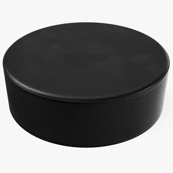 generic hockey puck 3D