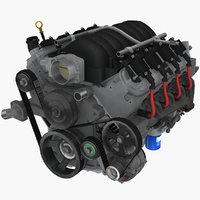 GM LS3 6.2L Camaro 2010 engine