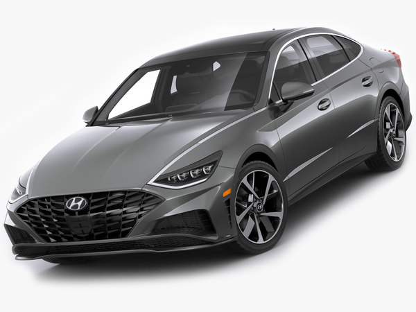 hyundai sonata 2020 3D model