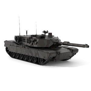 maya m1 abrams tank