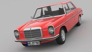 3D 1968-1975 mercedes benz w115 model