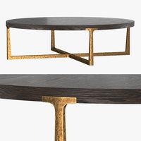 t-brace coffee table 55 3D