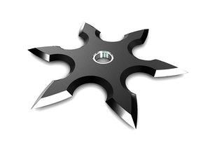 shuriken ninja 3D model