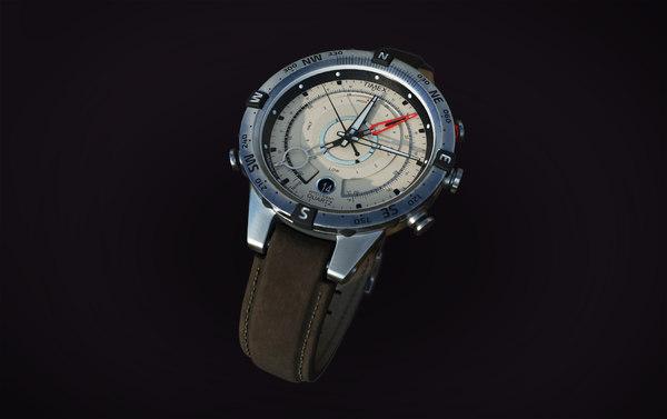 3D usa watch timex tide