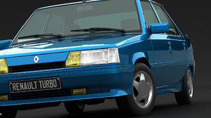 renault 11 turbo 3D