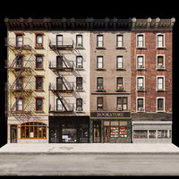 3D new york facades model