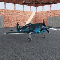 3D f6f hellcat