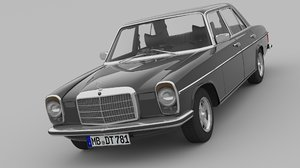 3D 1968-1975 mercedes benz w115
