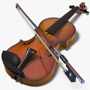 violin music instrument model