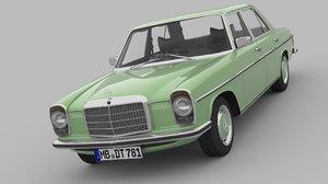 1968-1975 mercedes benz w115 3D model