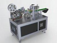 Circular arc surface labeling machine