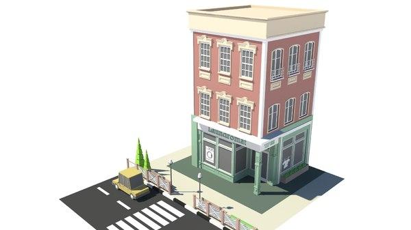 building shop store model