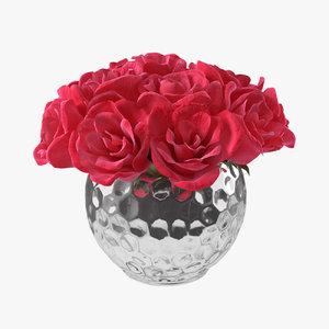 3D bouquet vase 2