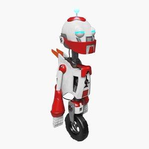 robot wheel 3D model