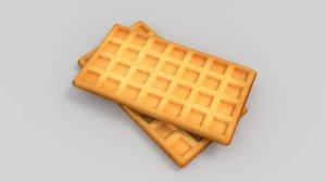 3D waffles