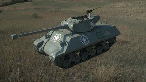 3D m36 tank model