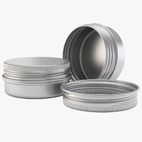 Aluminium Jar 15ml