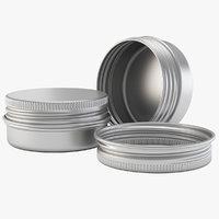 Aluminium Jar 15ml