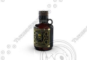 3D jug bottle model