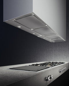3D model gaggenau gas cooktop grill
