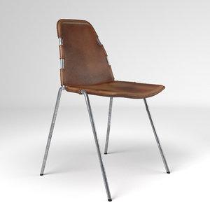 3D swedish design chair model