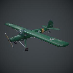 fieseler fi 156 storch 3D model