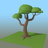 3D tree editable customizable