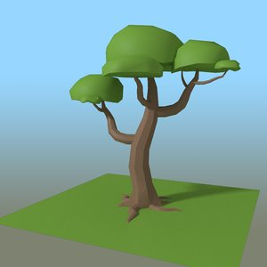 3D tree editable customizable