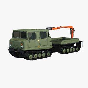 bandvagn bv 206 crane model