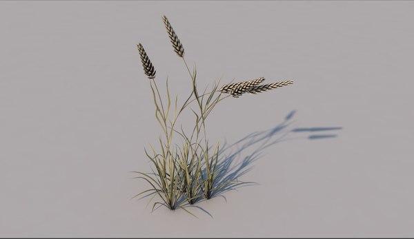 3D grass