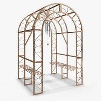 arbor gardens blender 3D model