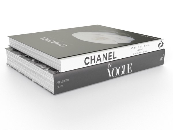 3D book vogue channel