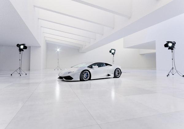 3D interior scene 01 environment model