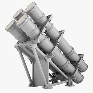 mk-141 missile launching 3D model