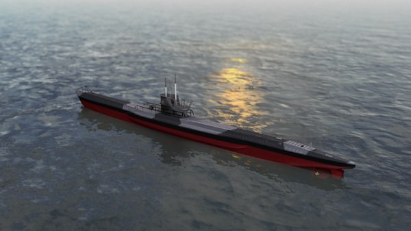 u boat type vii 3D