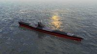 U Boat Type VII B Submarine