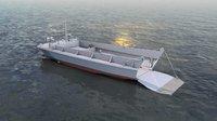LCVP Military Transport Boat