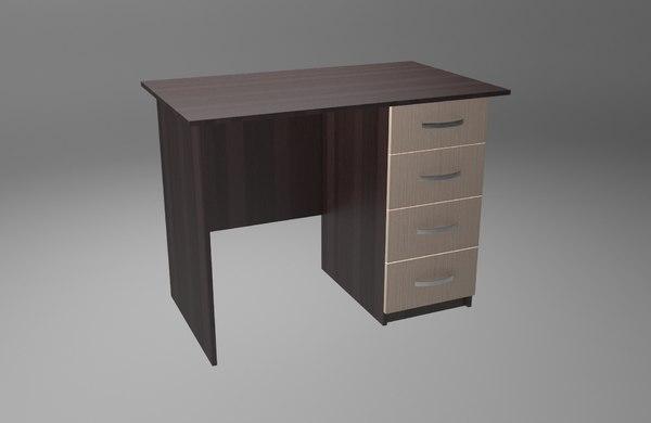 3D desktop model