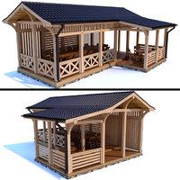 gazebo modern style 3D model
