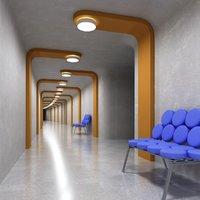 3D environment interior structure