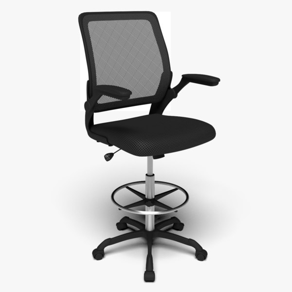 3D modway veer drafting chair
