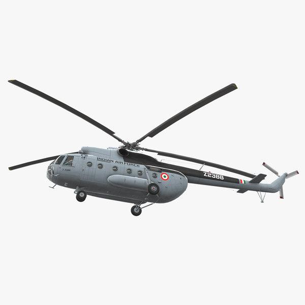3D mi-8t india air force model