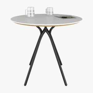 koleksiyon cantata table 3D