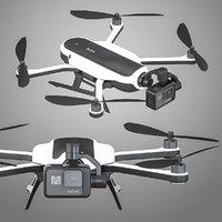 3D model gopro karma drone
