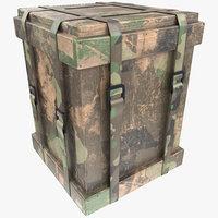 loot box pbr 3D model