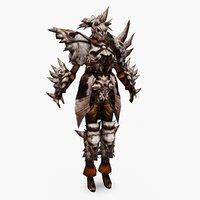 3D character 001 model